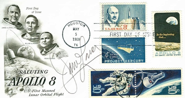 Philatélie Spatiale USA - 1969 - Apollo 8 1969_011