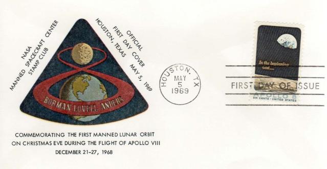 Philatélie Spatiale USA - 1969 - Apollo 8 1969_012