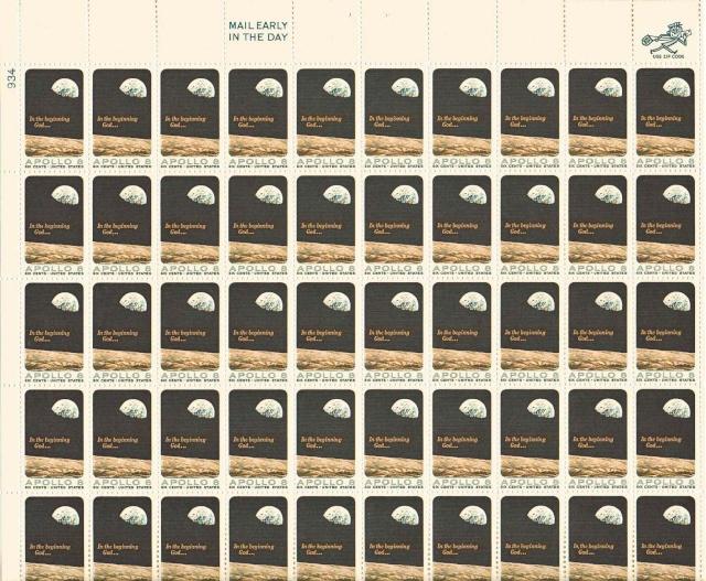Philatélie Spatiale USA - 1969 - Apollo 8 1969_013