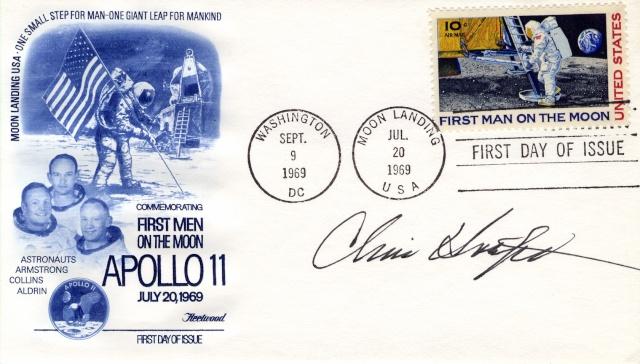 Philatélie Spatiale USA - 1969 - Timbre Apollo 11 1969_015