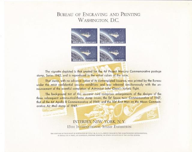 Philatélie Spatiale USA - 1967 - Projet Gemini 1971_i10