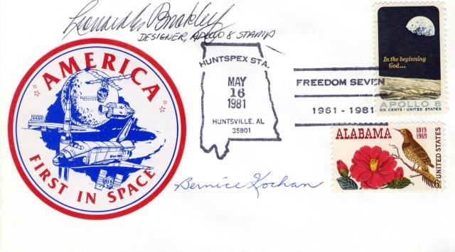 Philatélie Spatiale USA - 1969 - Apollo 8 1981_010