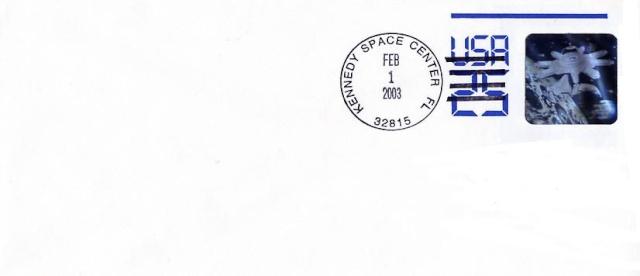 Astrophilatélie - La mission STS-107 Columbia - 10 ans déjà 2003_014