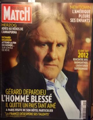 Interviews Buzz Aldrin, Gene Cernan, Felix Baumgartner, Richard Branson, Histoire de Omega Speedmaster dans le dernier Paris-Match 20121211