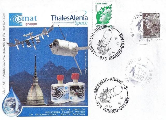 Les évènements spatiaux de 2012 vus au travers de la philatélie 2012_012