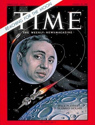 Disparition de Brainerd Holmes (1921-2013) / Ancien directeur vols habités NASA 43333410