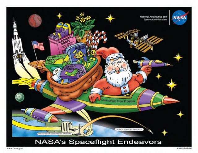Dessin Coloriage pour Noël ? Demandez au Kennedy Space Center 64045_10