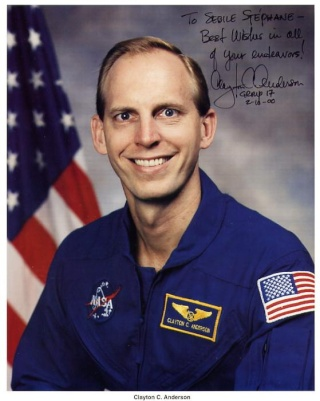 L'astronaute Clay Anderson quitte la NASA Anders10