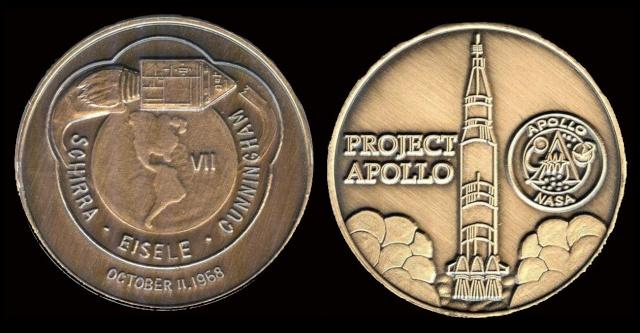 Les médailles commémoratives officielles de la NASA - Partie 3 / Programme Apollo Apollo18