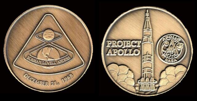 Les médailles commémoratives officielles de la NASA - Partie 3 / Programme Apollo Apollo19