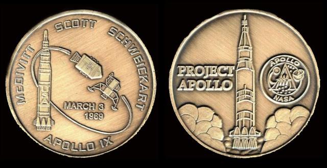 Les médailles commémoratives officielles de la NASA - Partie 3 / Programme Apollo Apollo20