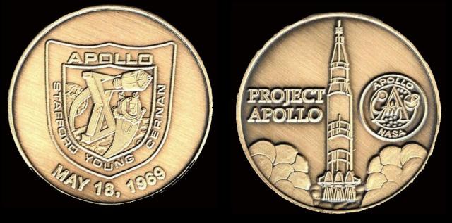 Les médailles commémoratives officielles de la NASA - Partie 3 / Programme Apollo Apollo21