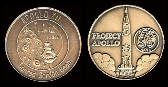 Les médailles commémoratives officielles de la NASA - Partie 3 / Programme Apollo Apollo23