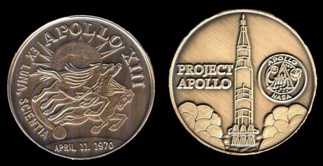 Les médailles commémoratives officielles de la NASA - Partie 3 / Programme Apollo Apollo24