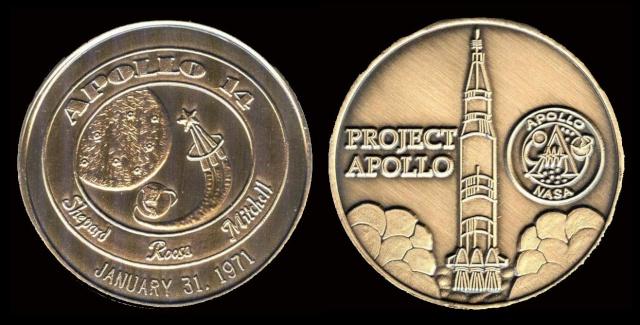 Les médailles commémoratives officielles de la NASA - Partie 3 / Programme Apollo Apollo25
