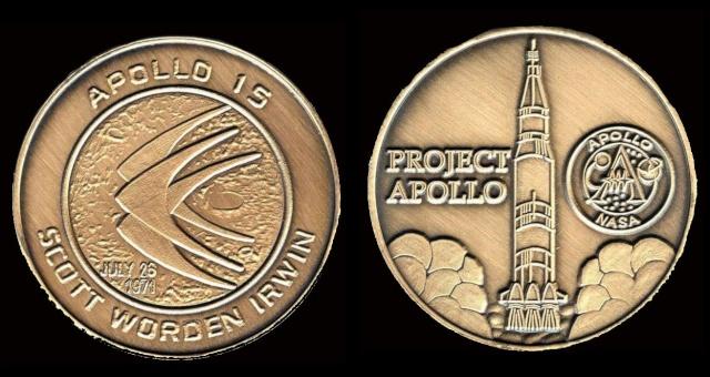Les médailles commémoratives officielles de la NASA - Partie 3 / Programme Apollo Apollo26