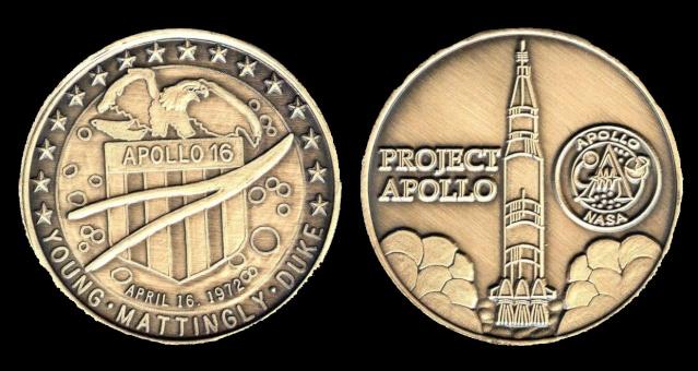 Les médailles commémoratives officielles de la NASA - Partie 3 / Programme Apollo Apollo27
