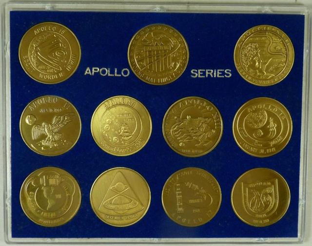 Les médailles commémoratives officielles de la NASA - Partie 3 / Programme Apollo Apollo29