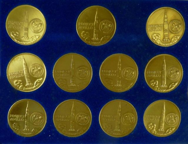 Les médailles commémoratives officielles de la NASA - Partie 3 / Programme Apollo Apollo30
