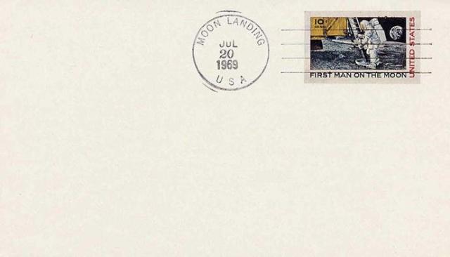 Philatélie Spatiale USA - 1969 - Timbre Apollo 11 Apollo31