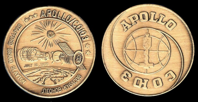 Les médailles commémoratives officielles de la NASA - Partie 4 / Programme Skylab et Apollo-Soyouz Astp_z10