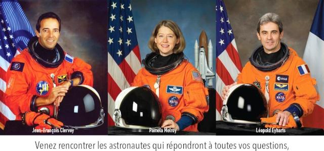 23 février 2013 : Conférence avec Pamela Melroy, Jean-François Clervoy, Leopold Eyharts et Pierre-Emmanuel Paulis Captur15