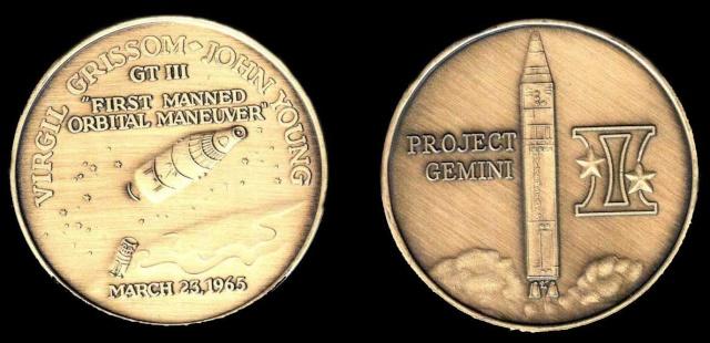Les médailles commémoratives officielles de la NASA - Partie 2 / Programme Gemini Gemini10
