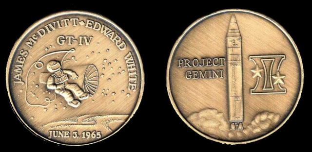 Les médailles commémoratives officielles de la NASA - Partie 2 / Programme Gemini Gemini11