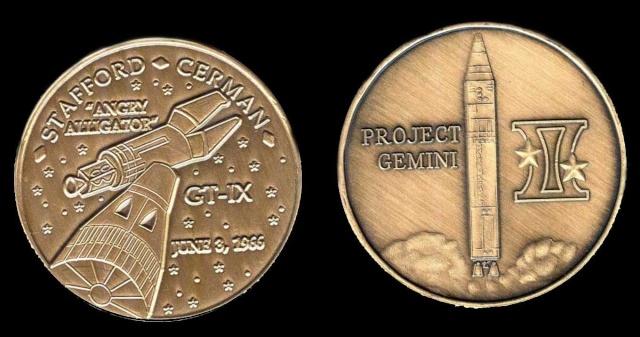 Les médailles commémoratives officielles de la NASA - Partie 2 / Programme Gemini Gemini16
