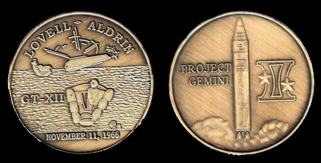 Les médailles commémoratives officielles de la NASA - Partie 2 / Programme Gemini Gemini19