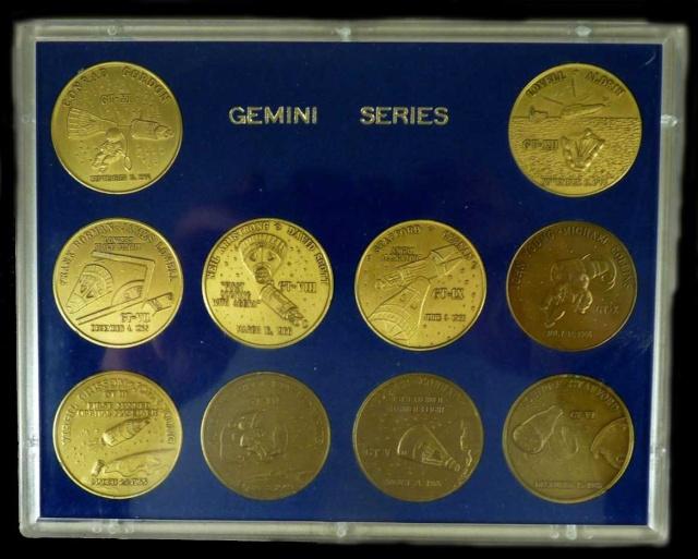 Les médailles commémoratives officielles de la NASA - Partie 2 / Programme Gemini Gemini20