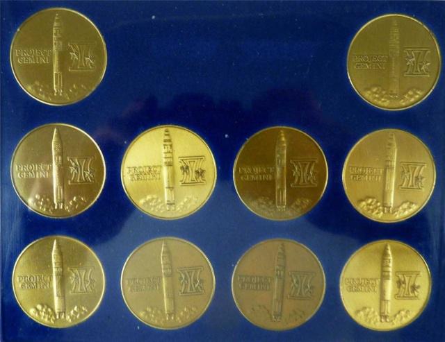 Les médailles commémoratives officielles de la NASA - Partie 2 / Programme Gemini Gemini21