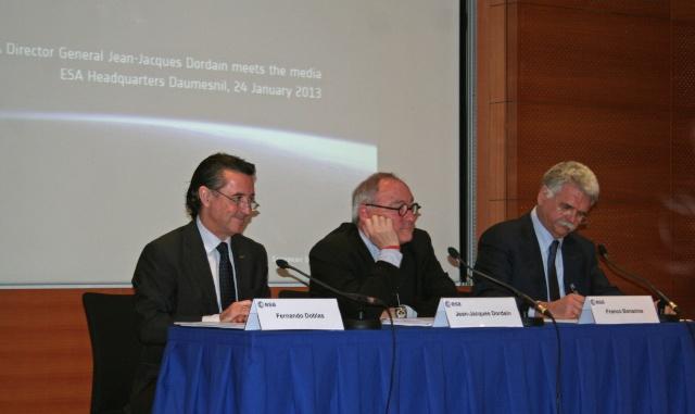 24 janvier 2013 - Conférence de Presse de Jean-Jacques Dordain Img_2510