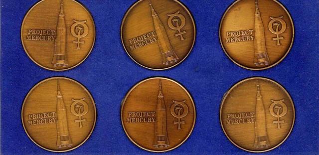 Les médailles commémoratives officielles de la NASA - Partie 1 / Programme Mercury Mercur11