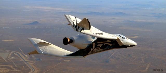 SpaceShipTwo - le 1er Vol libre en configuration motorisé - 19 décembre 2012 Origin10