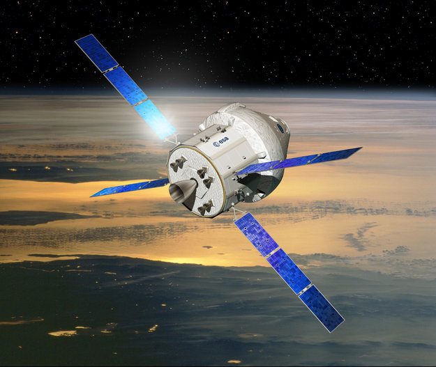 Collaboration vols habités NASA / ESA - Conférence le 16 janvier 2012 Propos10