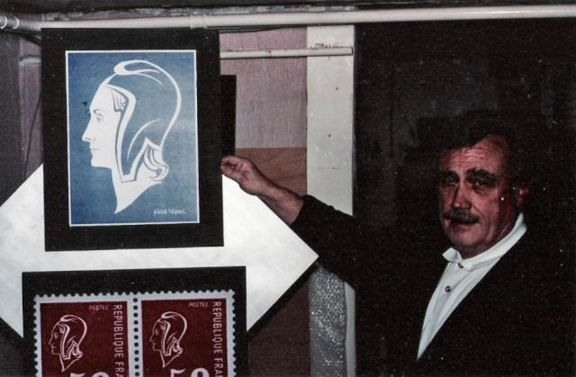 Disparition de Pierre Béquet (1932 - 2012), artiste créateur de timbres et graveur Sans-t12