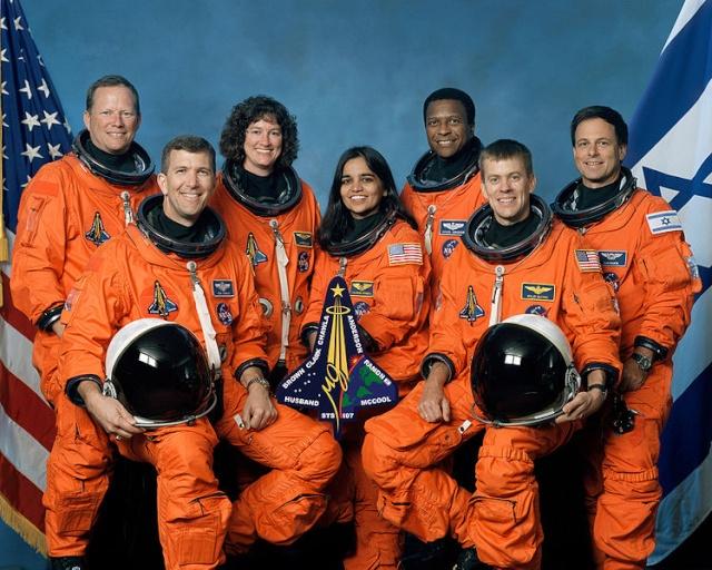 Mission STS-107 Columbia - 10 ans déjà (16 janvier au 1er février 2003) Sts-1010