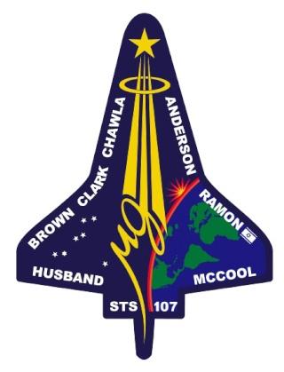 Logo et différents Patchs mission STS-107 Sts10710