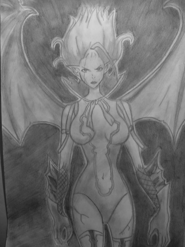 Galerie de dessins d'Erza Scarlet  00410