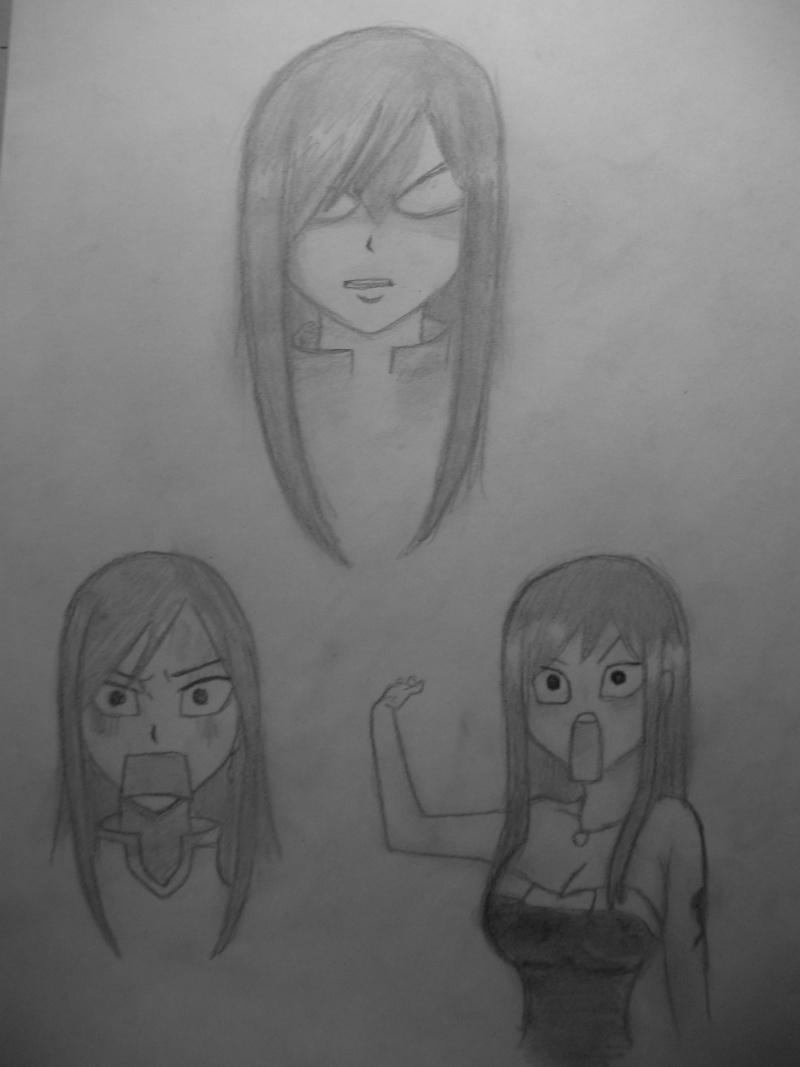 Galerie de dessins d'Erza Scarlet  02010