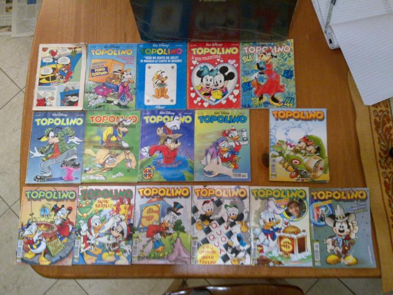 Lotto fumetti walt disney topolino,minny,paperino,paperinik,topomistery,i classici disney,ecc. 24012013