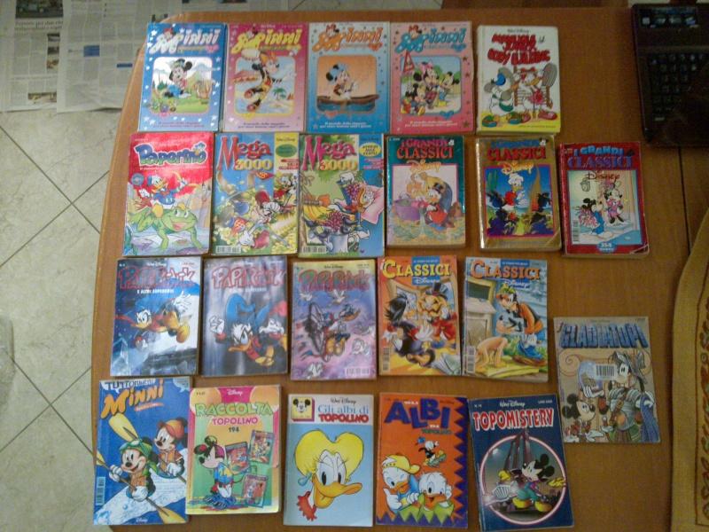 Lotto fumetti walt disney topolino,minny,paperino,paperinik,topomistery,i classici disney,ecc. 24012014