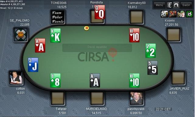 4ª Jornada de la Liga Nacional Team Poker Fuenla  Ft410
