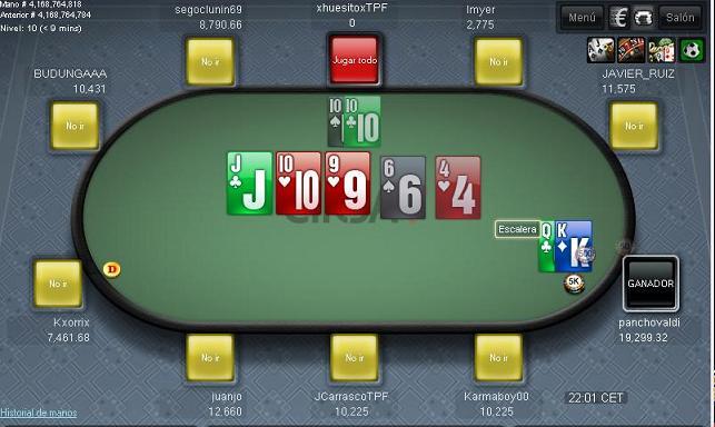 6ª y última Jornada de la Liga Nacional Team Poker Fuenla  Ft610