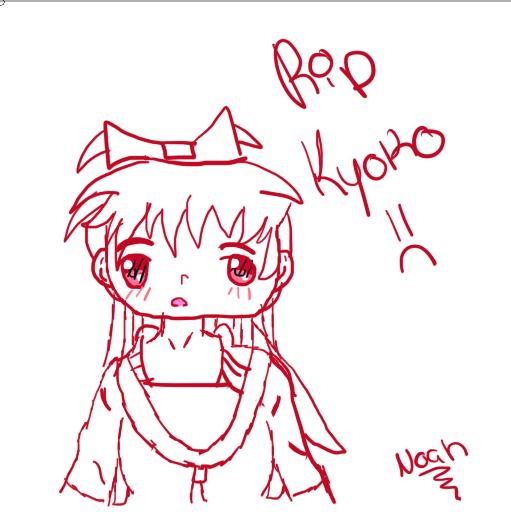 Kyoko Madoka Magica Drawing Screen10