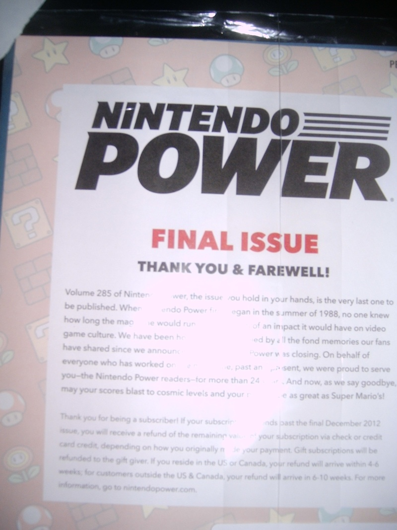 Nintendo Power magazine ends by years end! Np_las10
