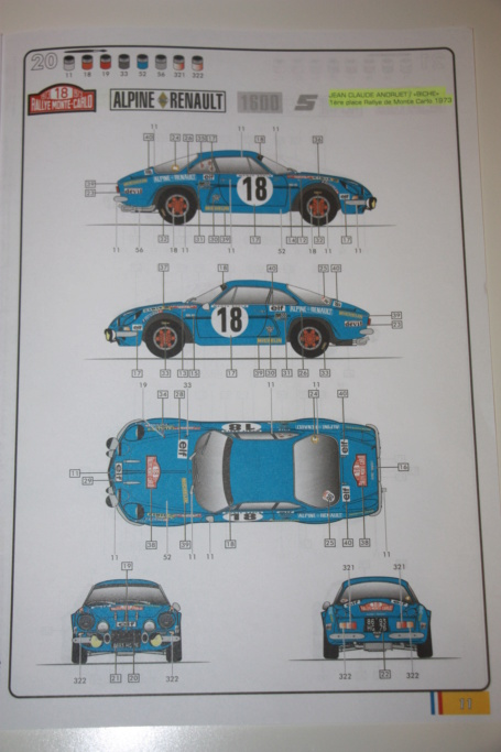 Qui va acheter l'ALpine A110 -1600s Berlinette ? - Page 2 Img_0325