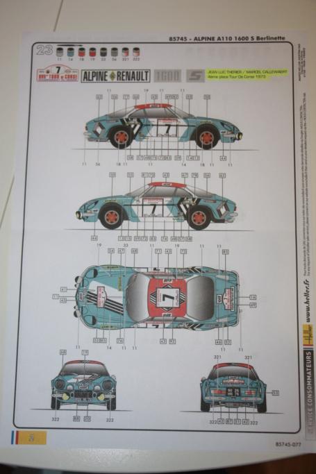 Qui va acheter l'ALpine A110 -1600s Berlinette ? - Page 2 Img_0327