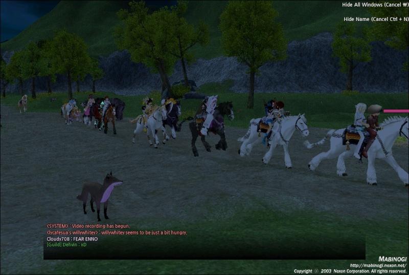 Screen shot event! Mabino11